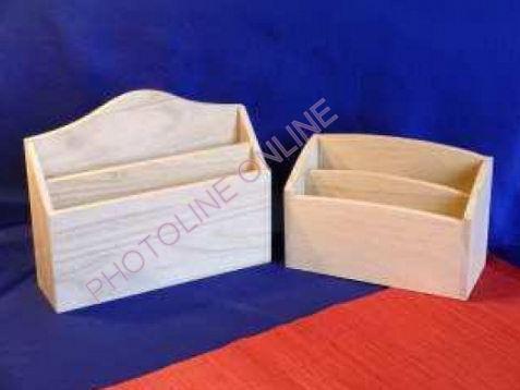 Szortírozó levéltartó széles, 21,5 x 18,2 x 6,5 cm