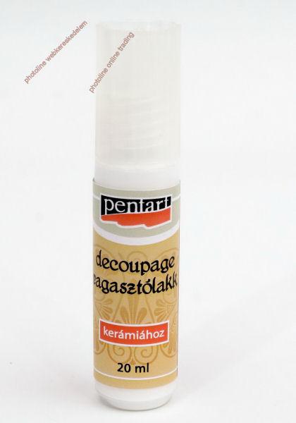 DECOUPAGE RAGASZTÓLAKK, KERÁMIÁRA, 20 ML