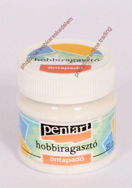 Hobbiragasztó áthelyezhető (öntapadóssá száradó) 50 ml, tégelyes