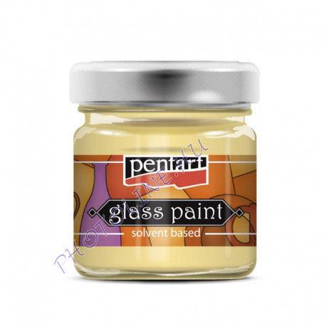 Üvegfesték (áttetsző lakk) 30 ml, áttetsző