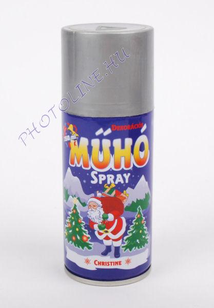 Műhó spray 150ml flakon, ezüst