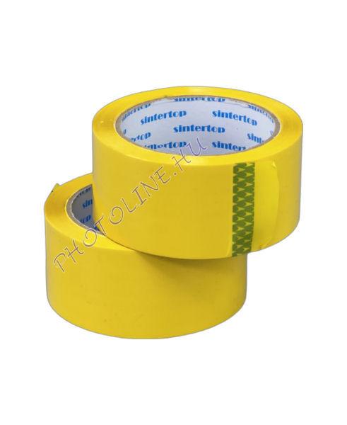 Aero színes jelölőszalag 48/66 M, sárga ragasztószalag