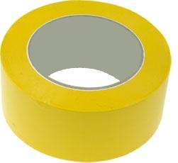 Padlójelölő ragasztószalag PVC 50x33M, AERO, sárga