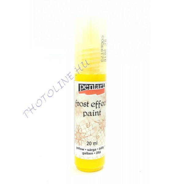 Üvegfesték 20ml, szatináló hatás, sárga