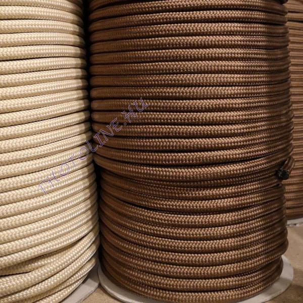 PP fonatolt kötél 8 mm barna