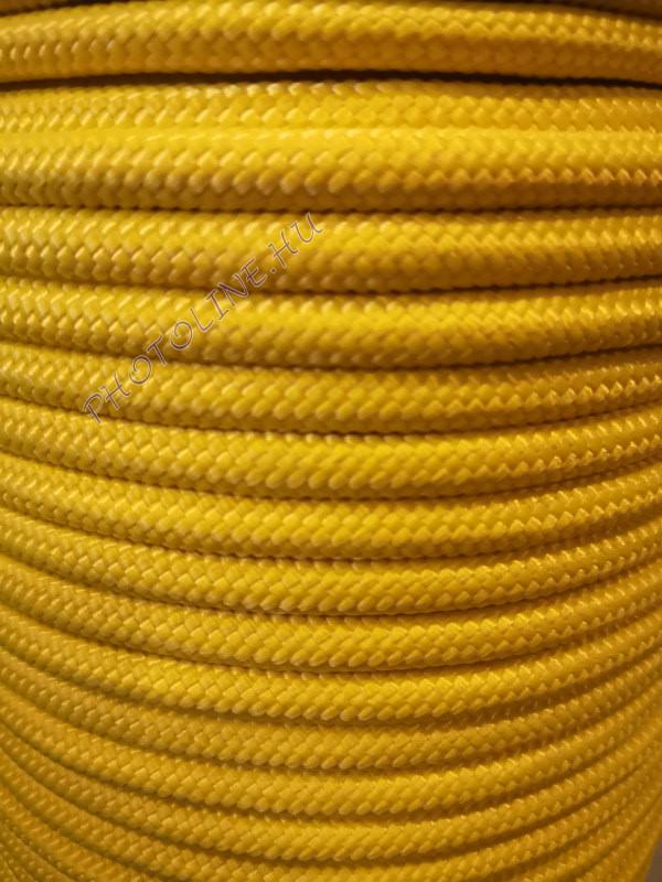 PP fonatolt kötél 8 mm citromsárga