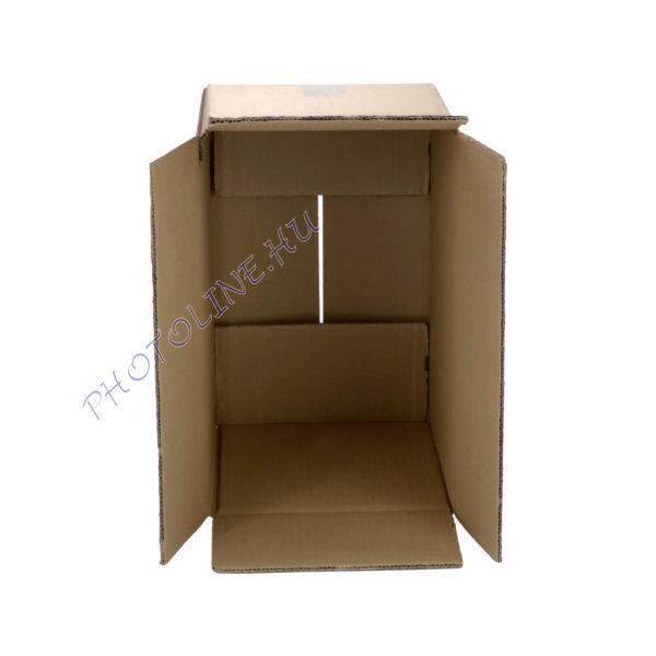 Csomagküldő és tároló kartondoboz 19 x 14 x 14 CM 5 rétegű