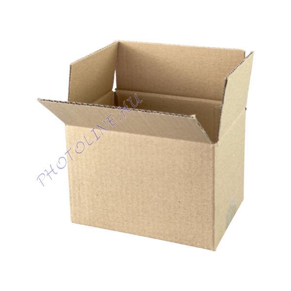 Csomagküldő és tároló kartondoboz 19 x 14 x 14 CM 3 rétegű