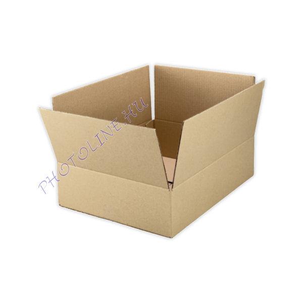 Kartondoboz csomagoló, lapos 40 X 30 X 10 CM