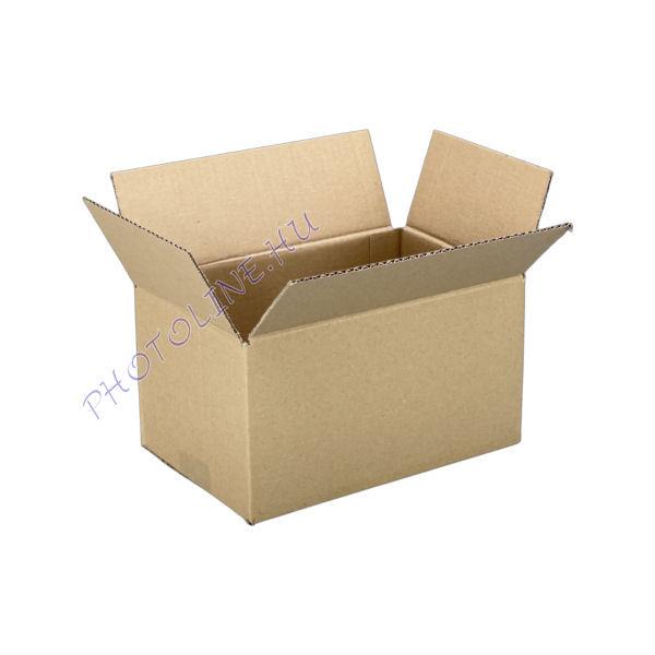 Csomagküldő kartondoboz 24 x 16 x 13 CM