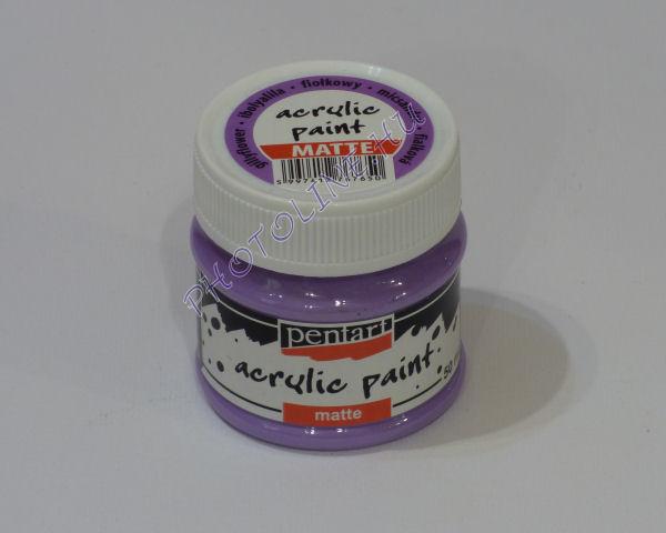 Akrilfesték matt, 50 ml, ibolyalila