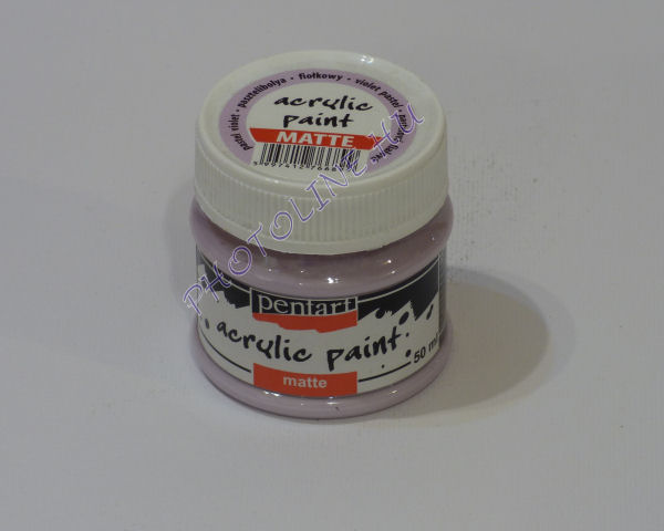 Akrilfesték matt, 50 ml, pasztelibolya