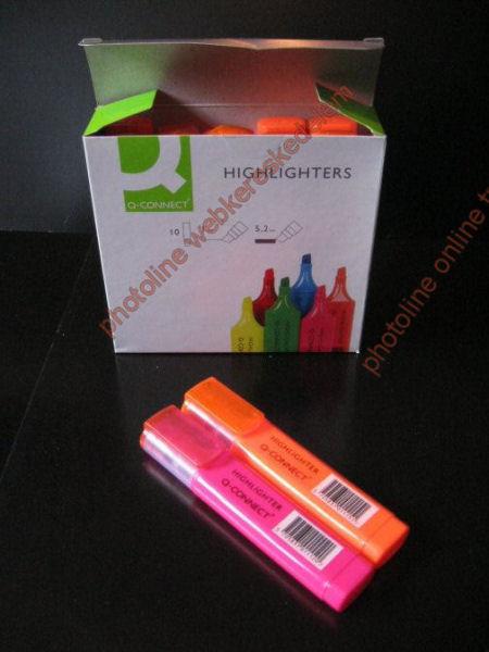 Szövegkiemelő filc minőségi, rózsaszín