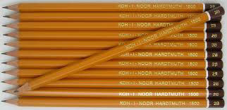 5B grafitceruza, 6 szögletű, KOH-I-NOOR