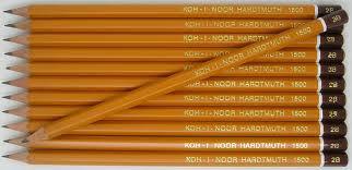 6B grafitceruza, 6 szögletű, KOH-I-NOOR