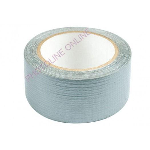 Textiles ragasztószalag 50MM x 10M, szürke, PE DUCT TAPE
