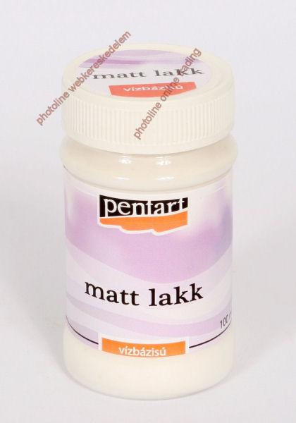Pentart matt lakk, 100 ml (vizes bázisú)