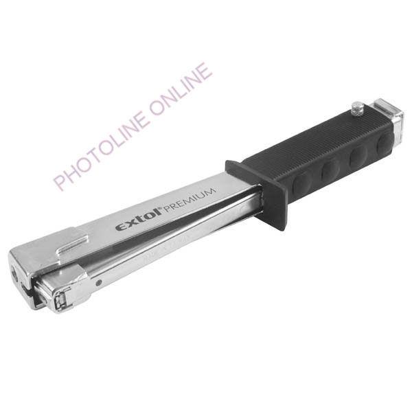 Tűzőkalapács krómozott, 6-10mm kapcsokhoz, 4 funkcióval (8851120)