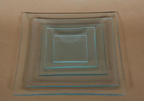 Üvegtál négyzetes 15X15 CM