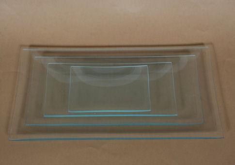 Üvegtál téglalap 8X16 CM
