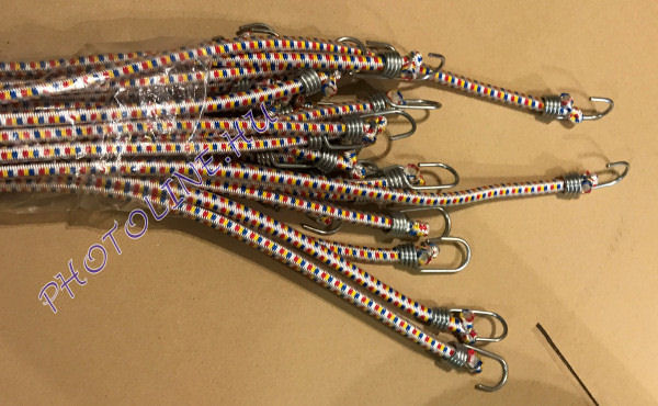 Gumipók extra erős, 60cm, 10mm vastag, 22mm kampó