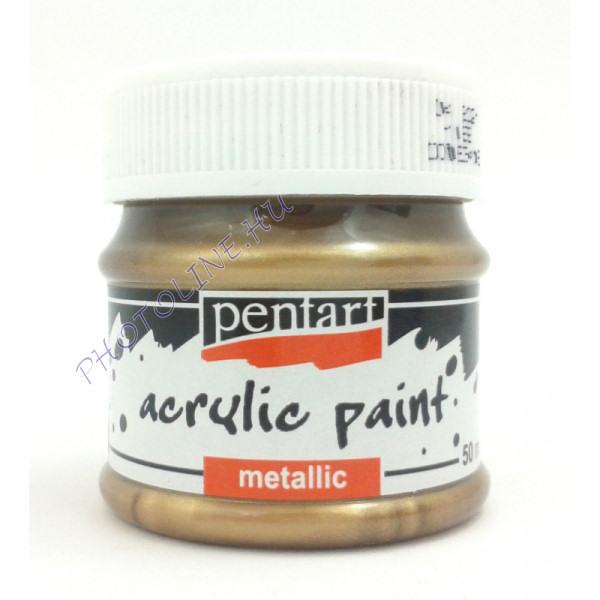 Metál hobbi és makettező akrilfesték 50 ml, antikréz