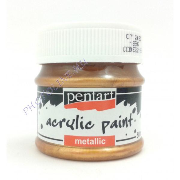 Metál hobbi és makettező akrilfesték 50 ml, bronz