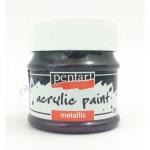 Metál hobbi és makettező akrilfesték 50 ml, lila