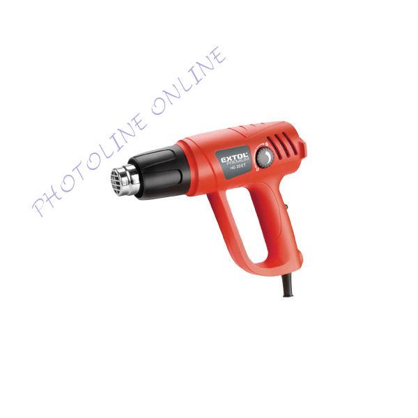 Hőlégfúvó pisztoly 2000W, 50-450 °C / I90-600 °C (8894801)