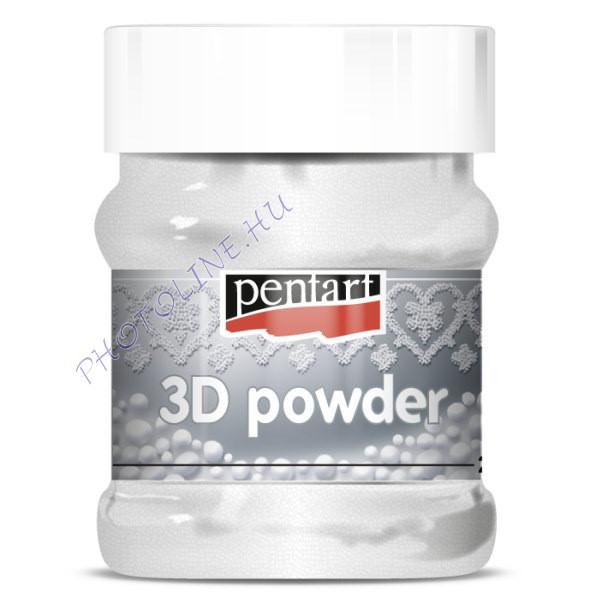 3D Por, díszítéshez, közepes, 100 ml