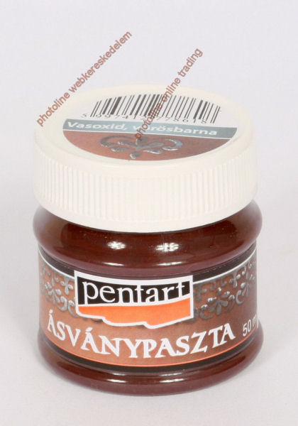 Ásványpaszta, vasoxid, 50 ml, vörösbarna