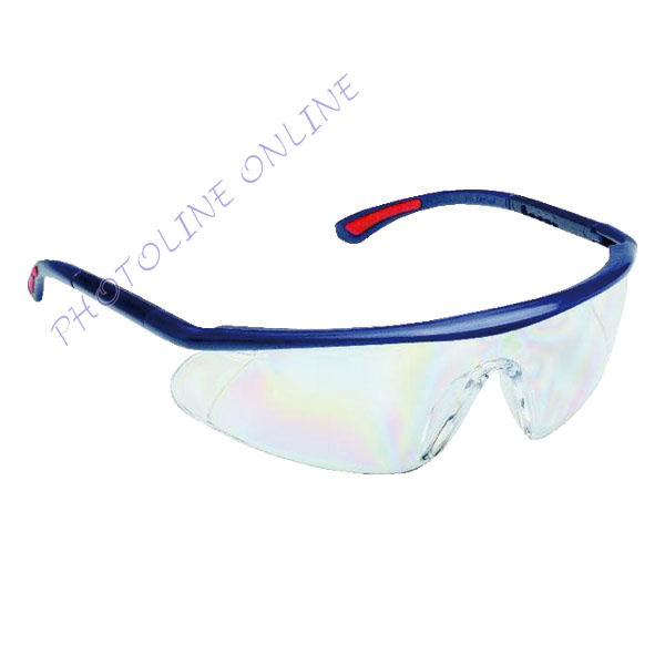 Szemüveg víztiszta AF, AS, UV, állítható szárú, páramentes, karcálló, PC látómezővel (512051)