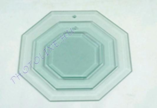 Üveglap, csiszolt szélű 10 x 10 cm