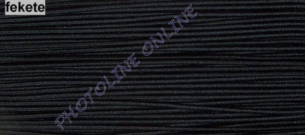 Gumizsinór, 3 mm, 50m/tekercs, FEKETE