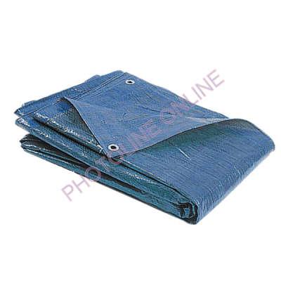 Ponyva (takaró) 4x6 M vízálló, fűzőhellyel, 75 gr/nm kék