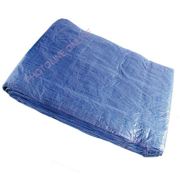 Ponyva (takaró) 8x12 M vízálló, fűzőhellyel, 75 gr/nm kék