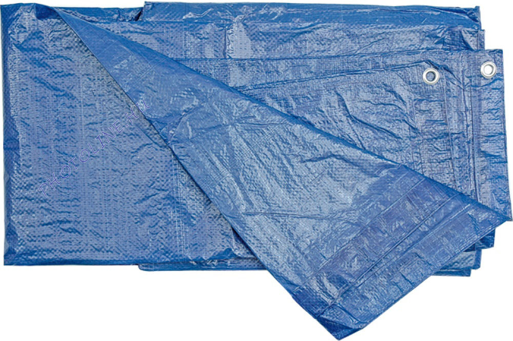 Ponyva (takaró) 10x15 M vízálló, fűzőhellyel, 75 gr/nm kék