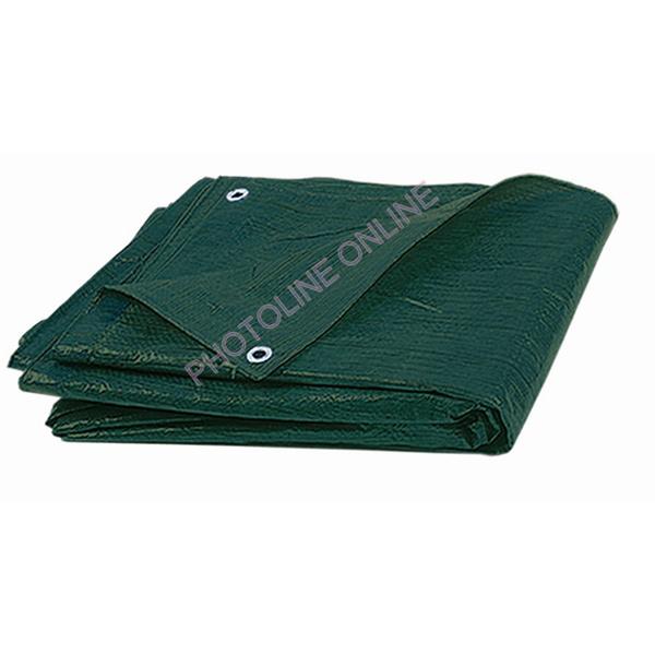 Takaróponyva zöld, 2x2,5 M ringlizett (vízálló) EXTRA, 240 gr/nm