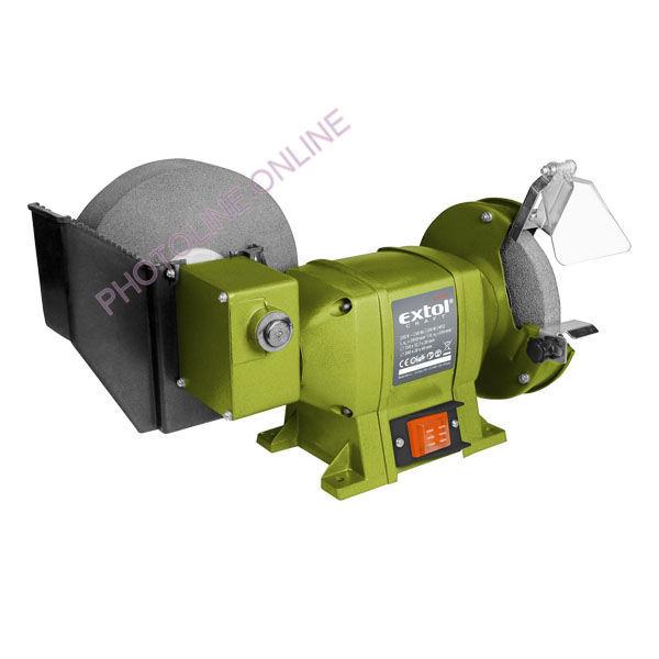 Kettős Köszörűgép 250W, Száraz-Vizes (410133)