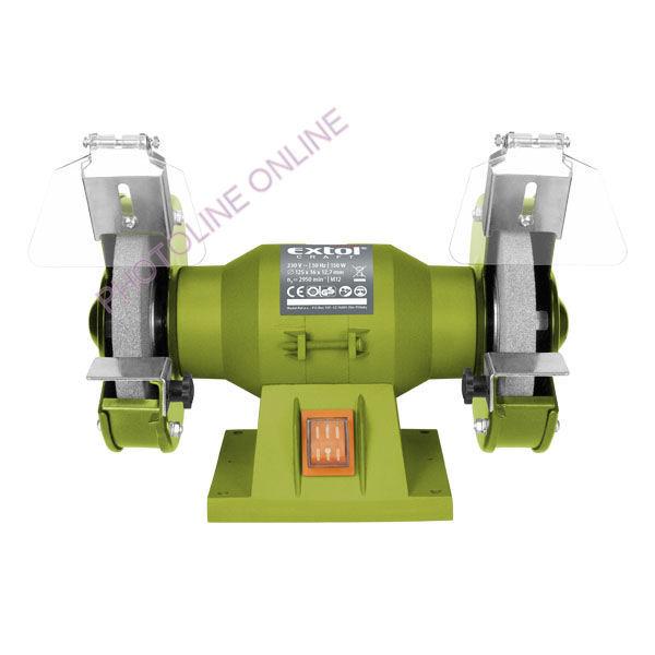 Kettős Köszörűgép 150W, 125X12,7X16 mm (410120)