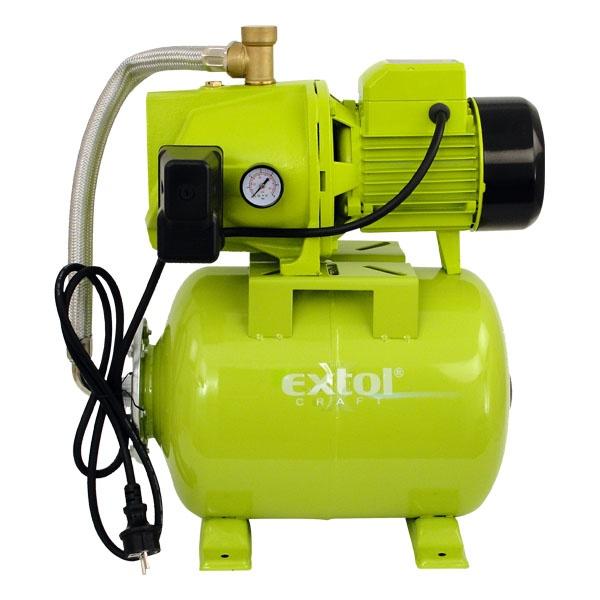 Házi vízmű 750W, szállító teljesítmény: 5400 L/h, max. száll. 46 m, tartály: 20L (84513)