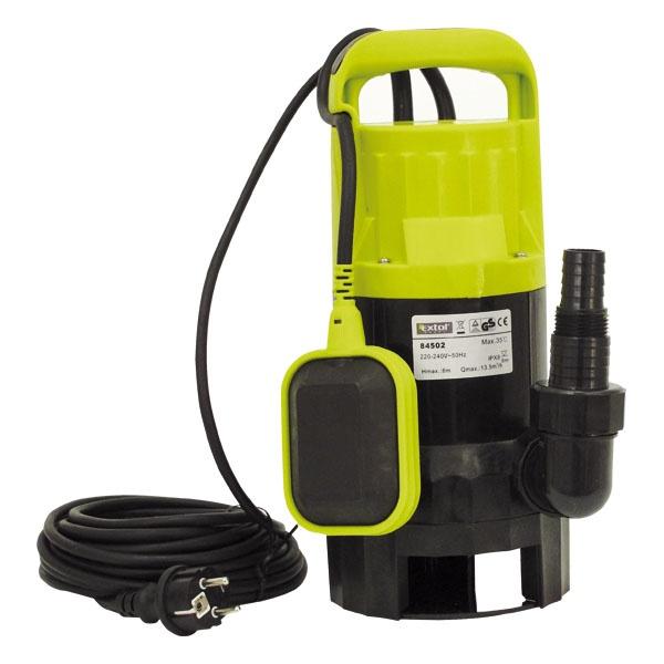 Szennyvíz szivattyú, 550W, teljesítmény: 12 m3/óra (84501)