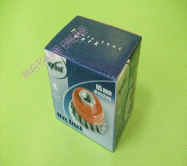 Drótcsiszoló fazékkefe sarokcsiszolóra 65 mm