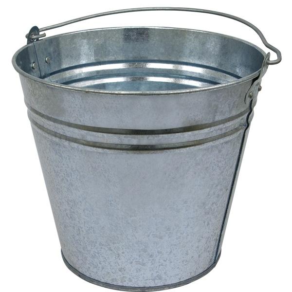 Horganyzott vödör, 12 literes