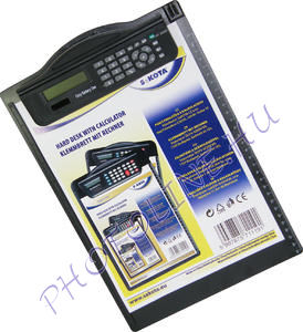 A4-es felírótábla, számológéppel, Photoline