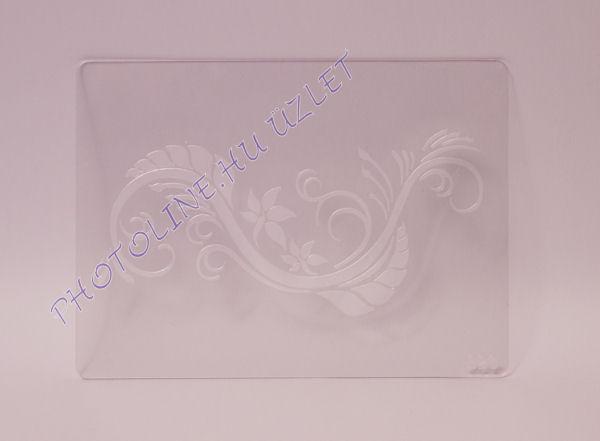 Rugalmas dekorációs Sablon - Stencil S20