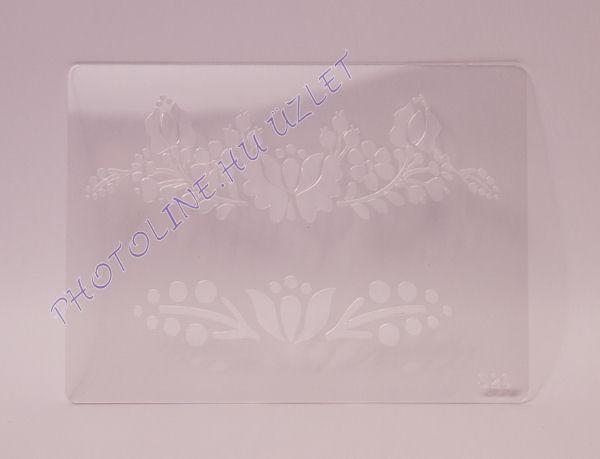 Rugalmas dekorációs Sablon - Stencil S26
