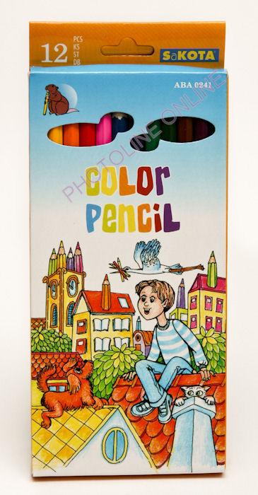 Színes ceruza Sakota 12 db-os normál készlet