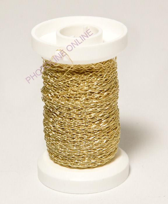 Aranyszínű drót, 0,25mm, 50 m hossz