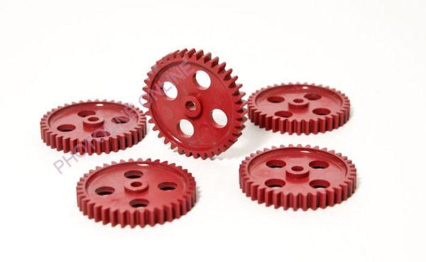 Fogaskerék D=40 mm, 6 mm külső-, 4 mm belső furat